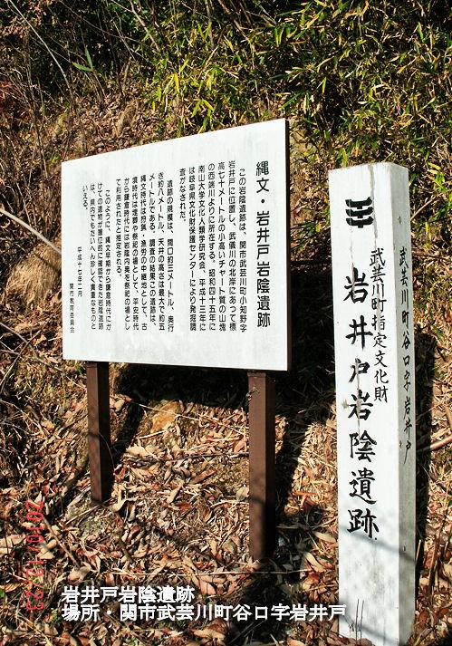 岩井戸岩陰遺跡